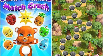 Juicy fruits: match 3 crush