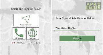 Mobile caller location track