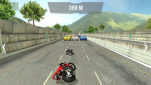 motorbike traffic racer 3d