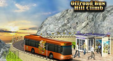 Off-road bus hill climb 3d