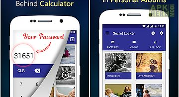 Photo,video locker-calculator