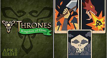 Thrones: kingdom of elves. medie..