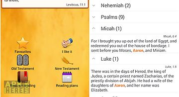 The english study bible for Android free download at Apk Here store