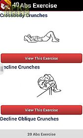40 abs exercise