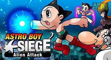 Astro boy siege: alien attack