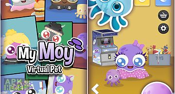 My moy 🐙 virtual pet game