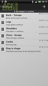 my workout - fitness trainer
