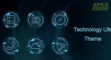 Technology life-solo theme