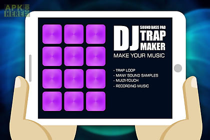 dj trap maker sound bass pad