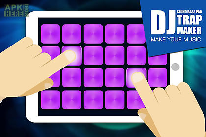 dj trap maker sound bass pad