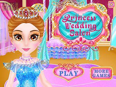 princess salon wedding games