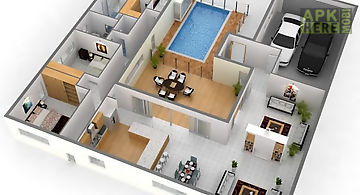 3d small home plan ideas for Android free at Apk Here