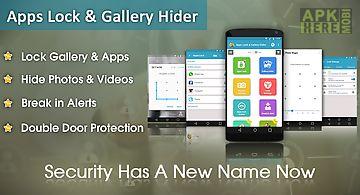 Apps lock & gallery hider