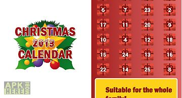 Christmas calendar 2013 advent