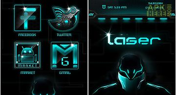 Alien go launcherex theme for Android free download at Apk