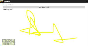 Signature unlocker