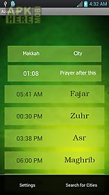 Azan time for all prayers for Android free download at Apk