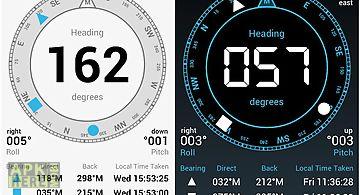 Digital field compass
