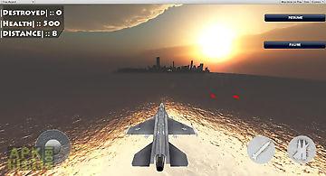 Fighter jet world war invasion