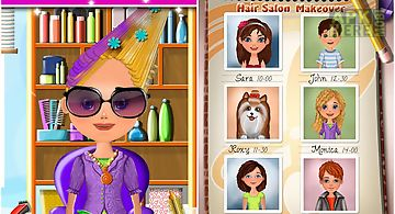 Hair salon makeover