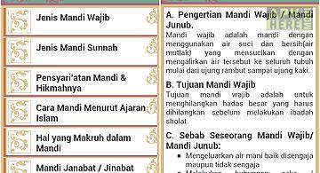 Mandi wajib dan sunnah