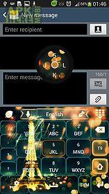 go keyboard eiffel paris glow