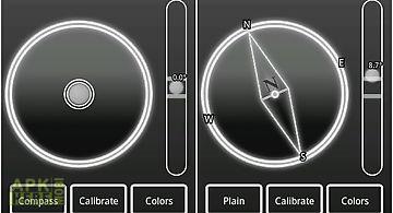 Micro spirit level + compass