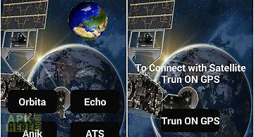 Satellite internet prank app