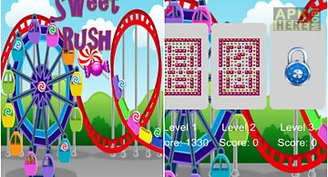 Sweet rush maze candy
