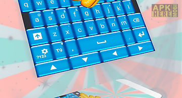 Blue candy go keyboard