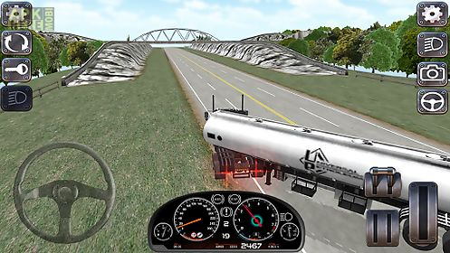Euro truck simulator 3d hd for Android free download at Apk
