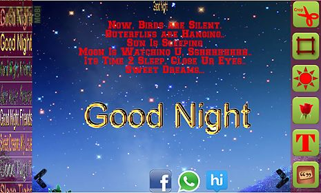 Good night cards messages for android free download at apk here good night cards messages m4hsunfo