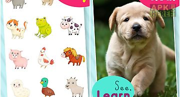 Animal sounds 123 for toddler