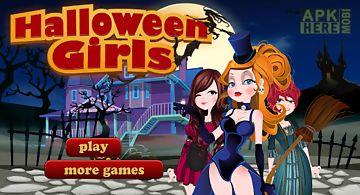 Halloween girls-halloween game