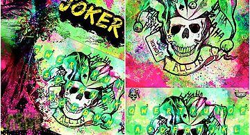 Joker emoji kika keyboardtheme
