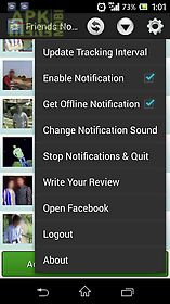 Online notifier for facebook for Android free download at