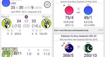 Cricitch live cricket scores