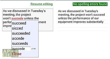 Spell checker - spelling boost
