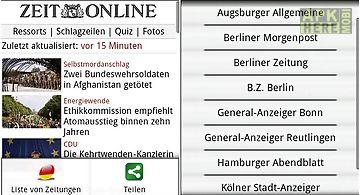Zeitungen de frei (deutsch)
