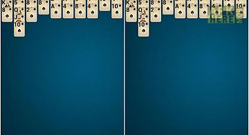 Ace spider solitaire