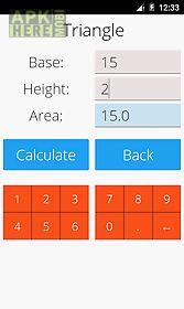 area and volume calculator
