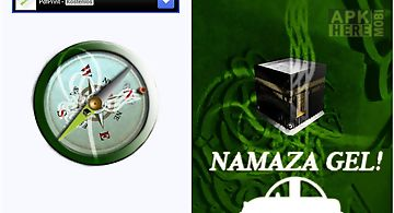 Namaza gel - qibla compass