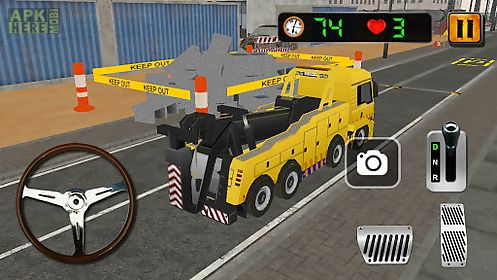 crane parking simulator 3d
