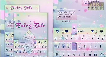 Fairy tale go keyboard theme