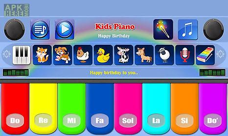 kids piano free