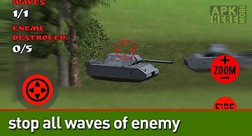 Artillery simulator