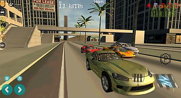 Car drift racing simulator