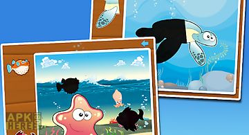 Fish puzzles for kids - lite