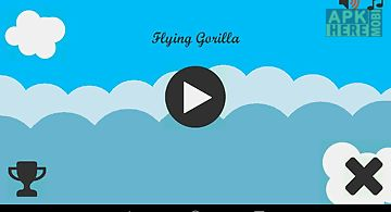 Flying gorilla