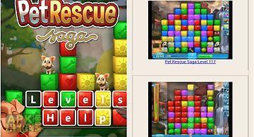 Pet rescue saga levels help